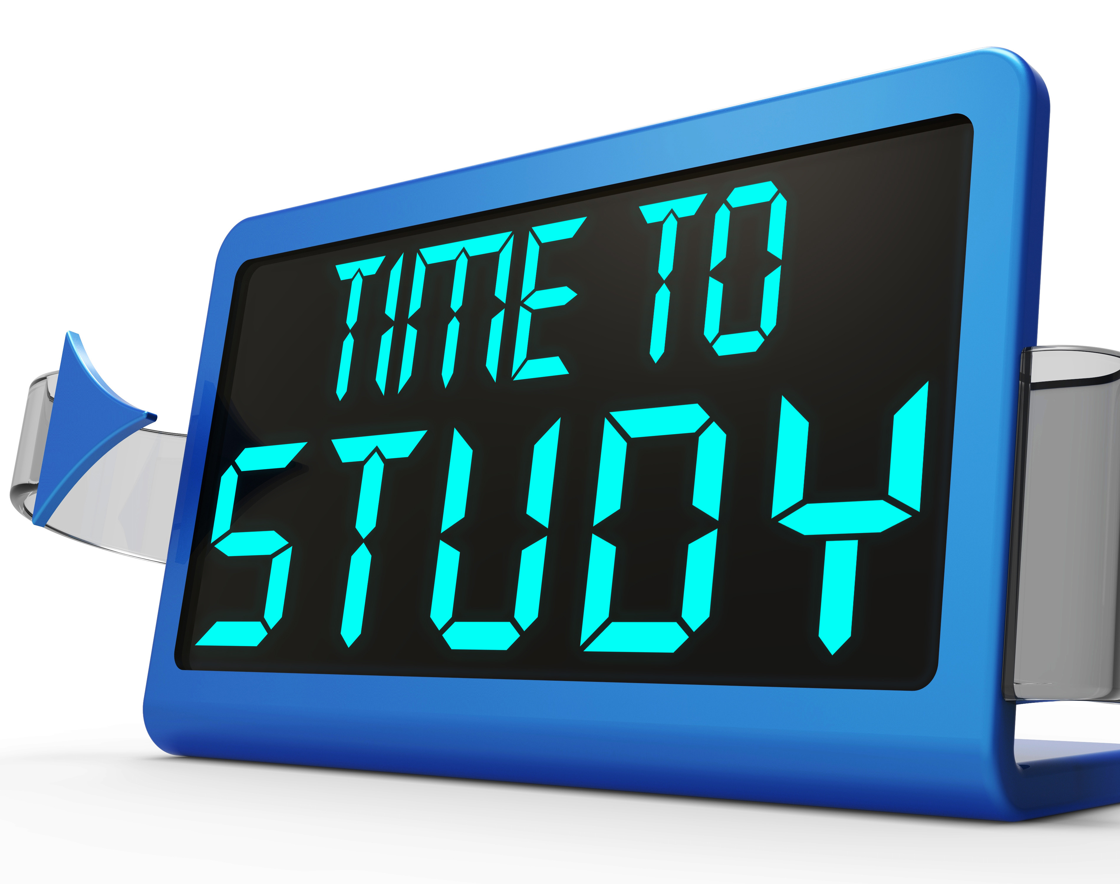 Time to study message showing education and studying character ink time to study message showing education and studying altavistaventures Images