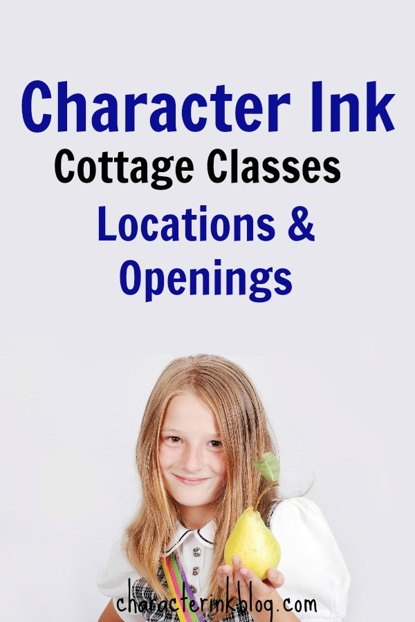 Character Ink Cottage Class Openings Fall 2017