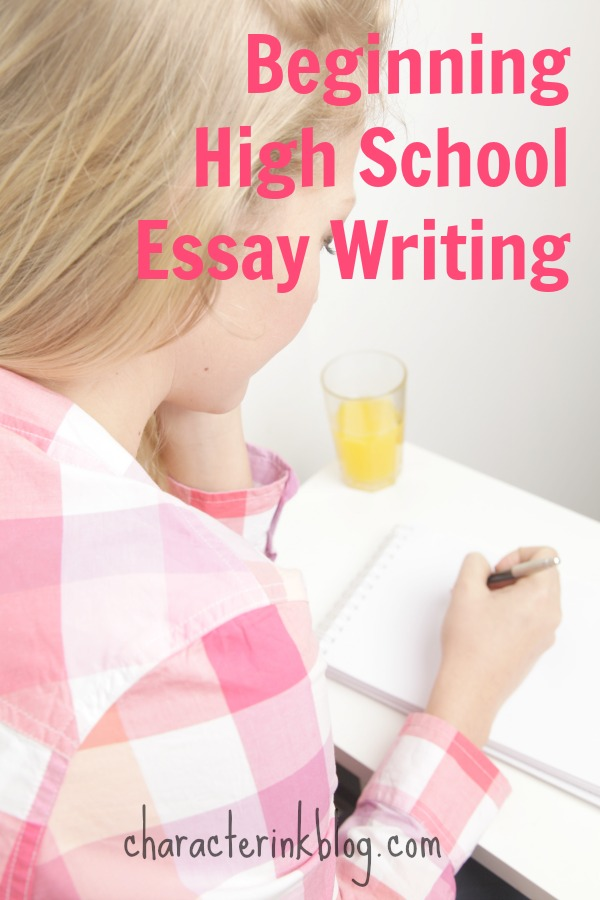 beginning high school essay writing live teaching video included  i was fortunate to teach my senior high school class of young high school boys how to write an expository essay since a couple of the boys were sick