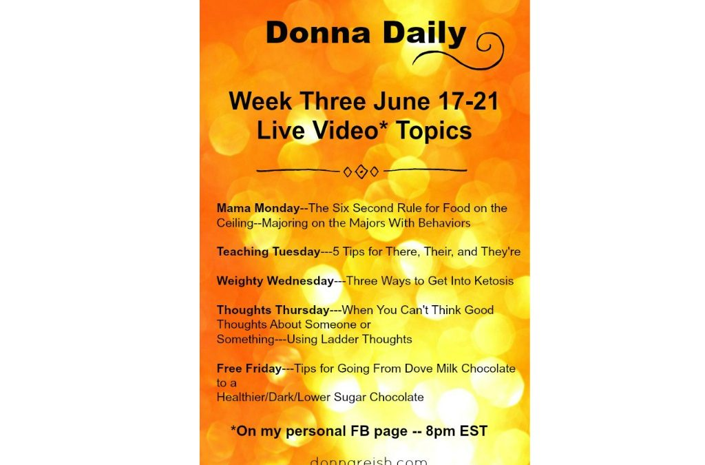 Donna Daily–Scary But Exciting Challenge