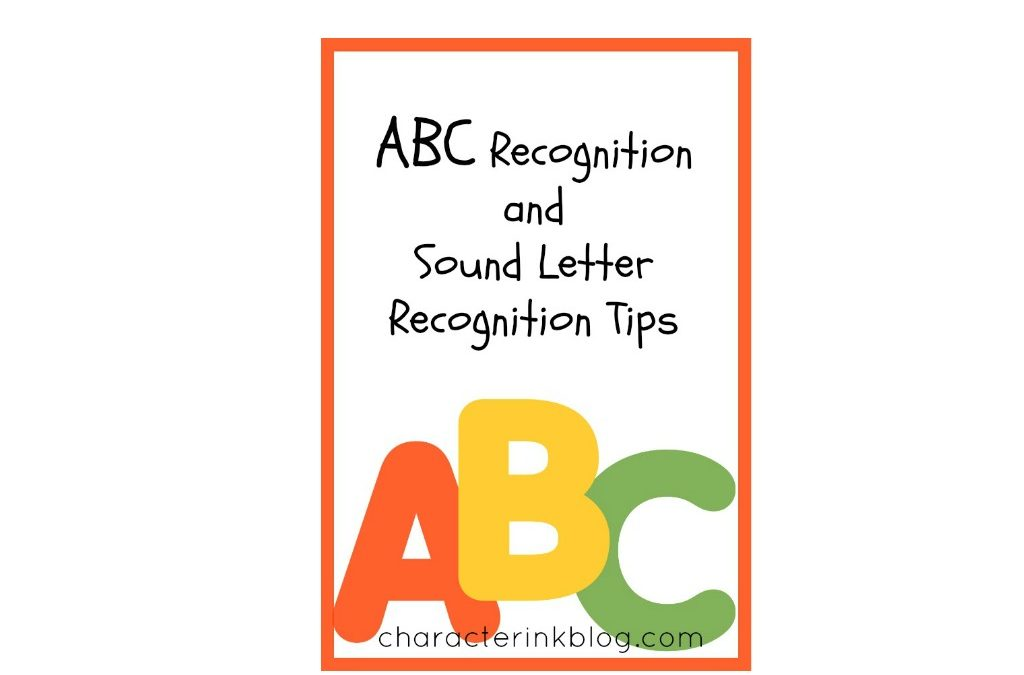 ABC Recognition and Sound Letter Recognition Tips