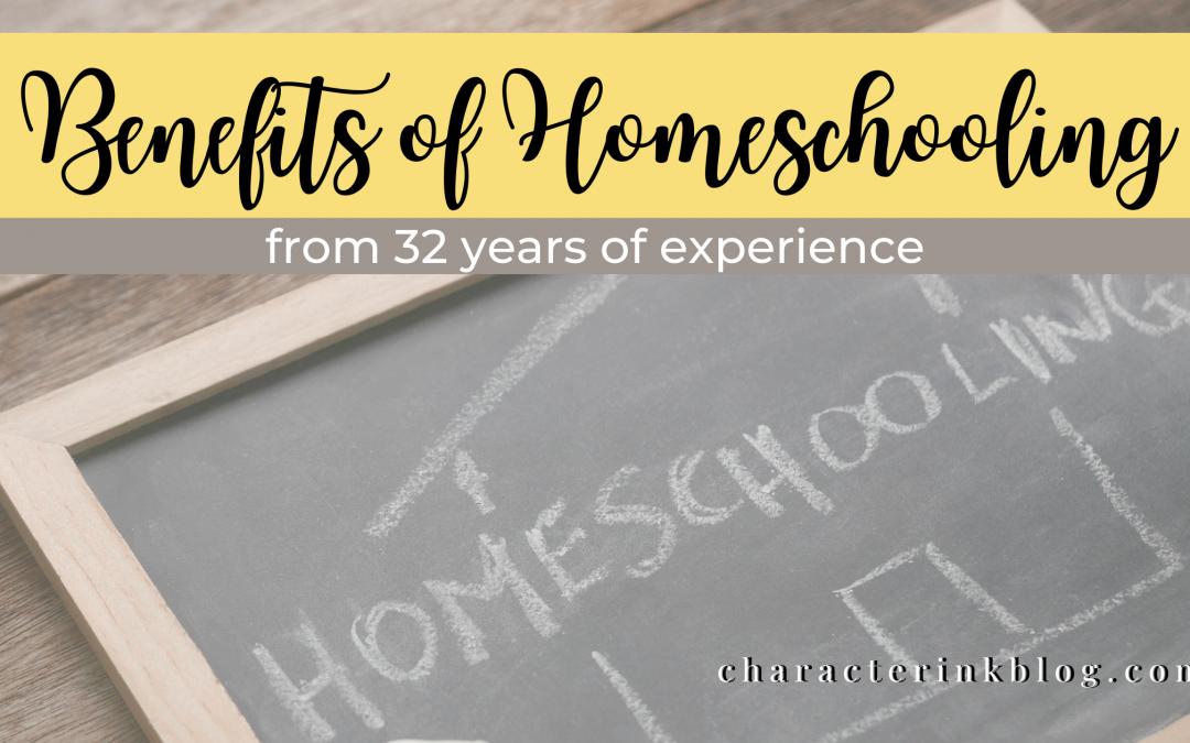 Benefits of Homeschooling Series